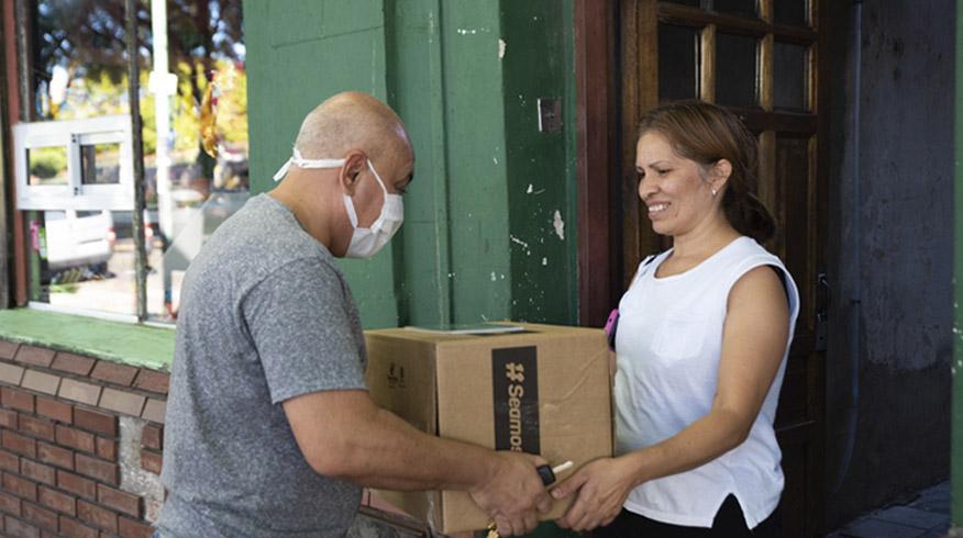 Campaña #SeamosUno: ayudar a quienes más lo necesitan